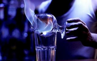 Как пить самбуку в домашних условиях?