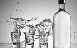 Как разбавить спирт водой чтобы получилась водка?