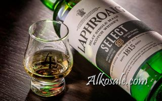 Виски Laphroaig — элитный напиток из Шотландии