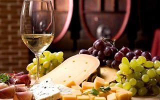 С чем пьют белое вино