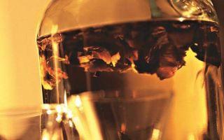 Настойка на перегородках грецкого ореха на водке