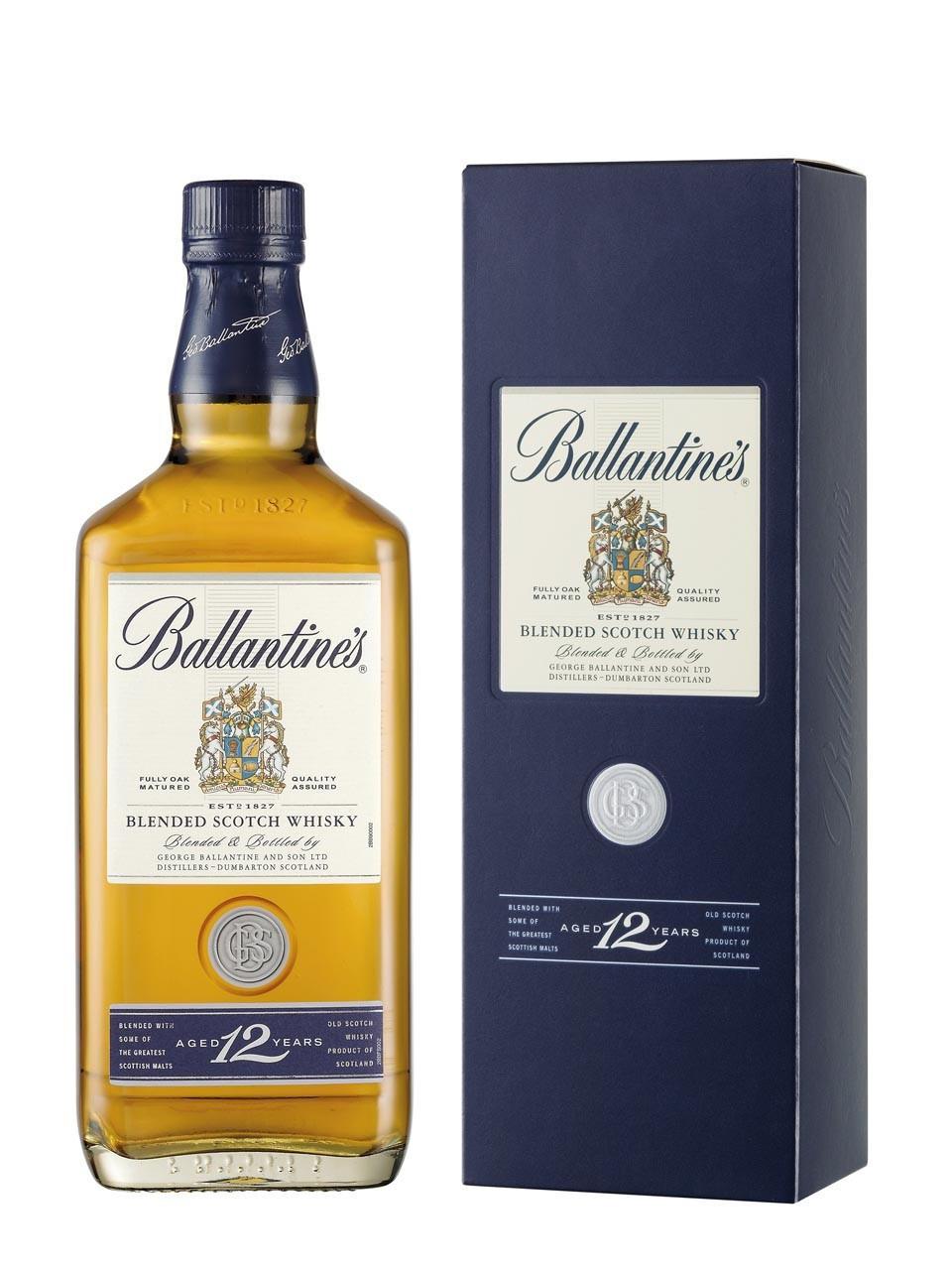 Виски Ballantines 12 лет