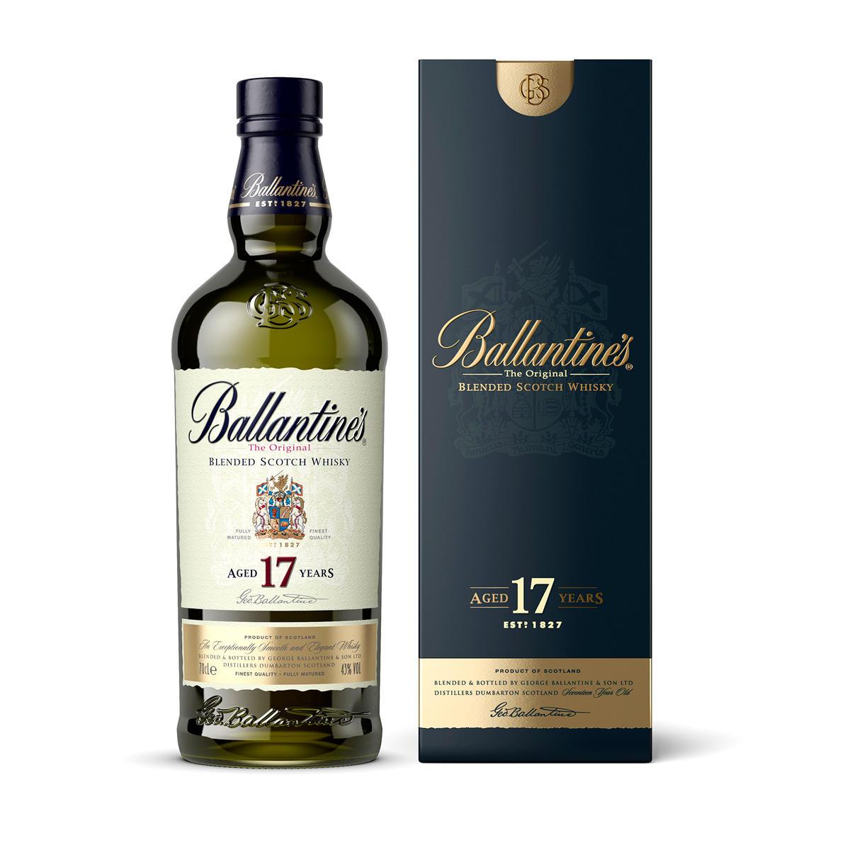 Виски Ballantines 17 лет