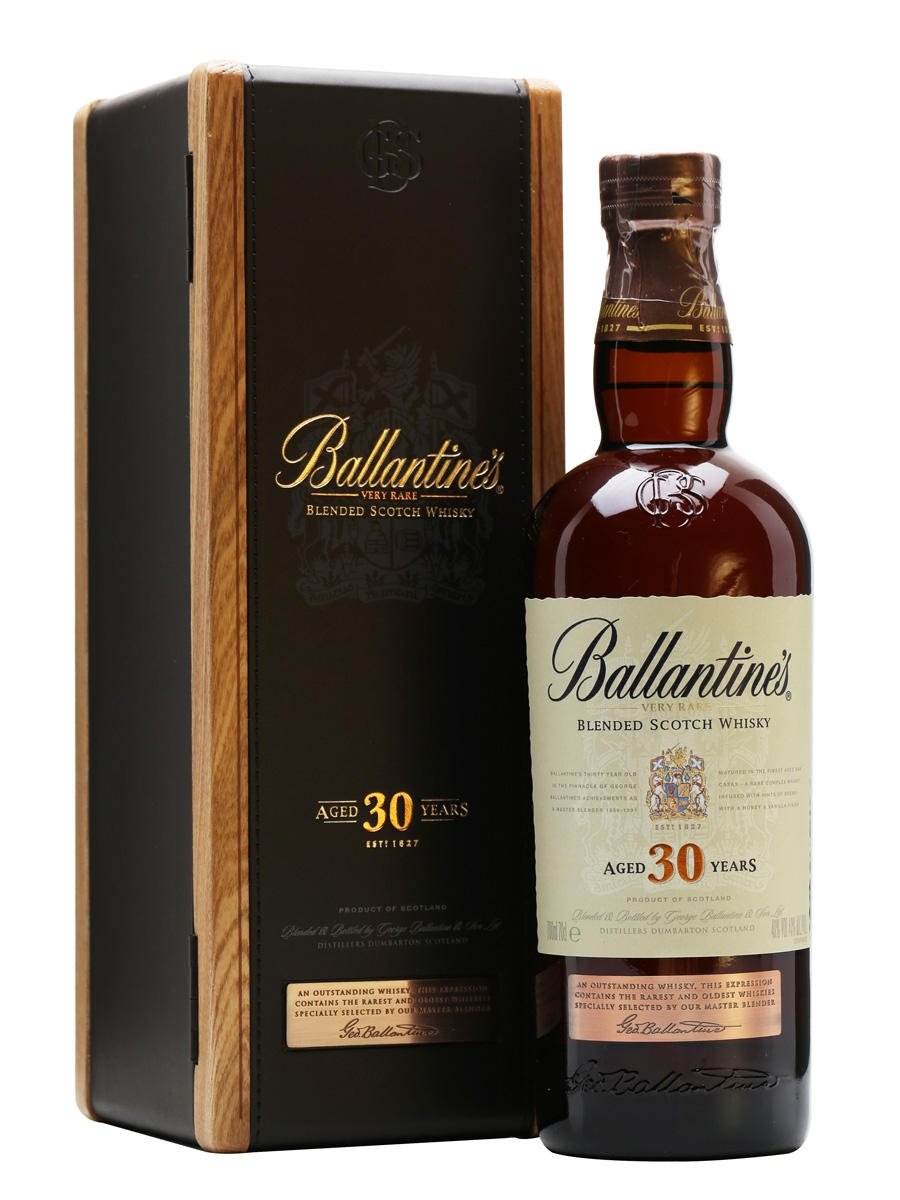 Виски Ballantines 30 лет