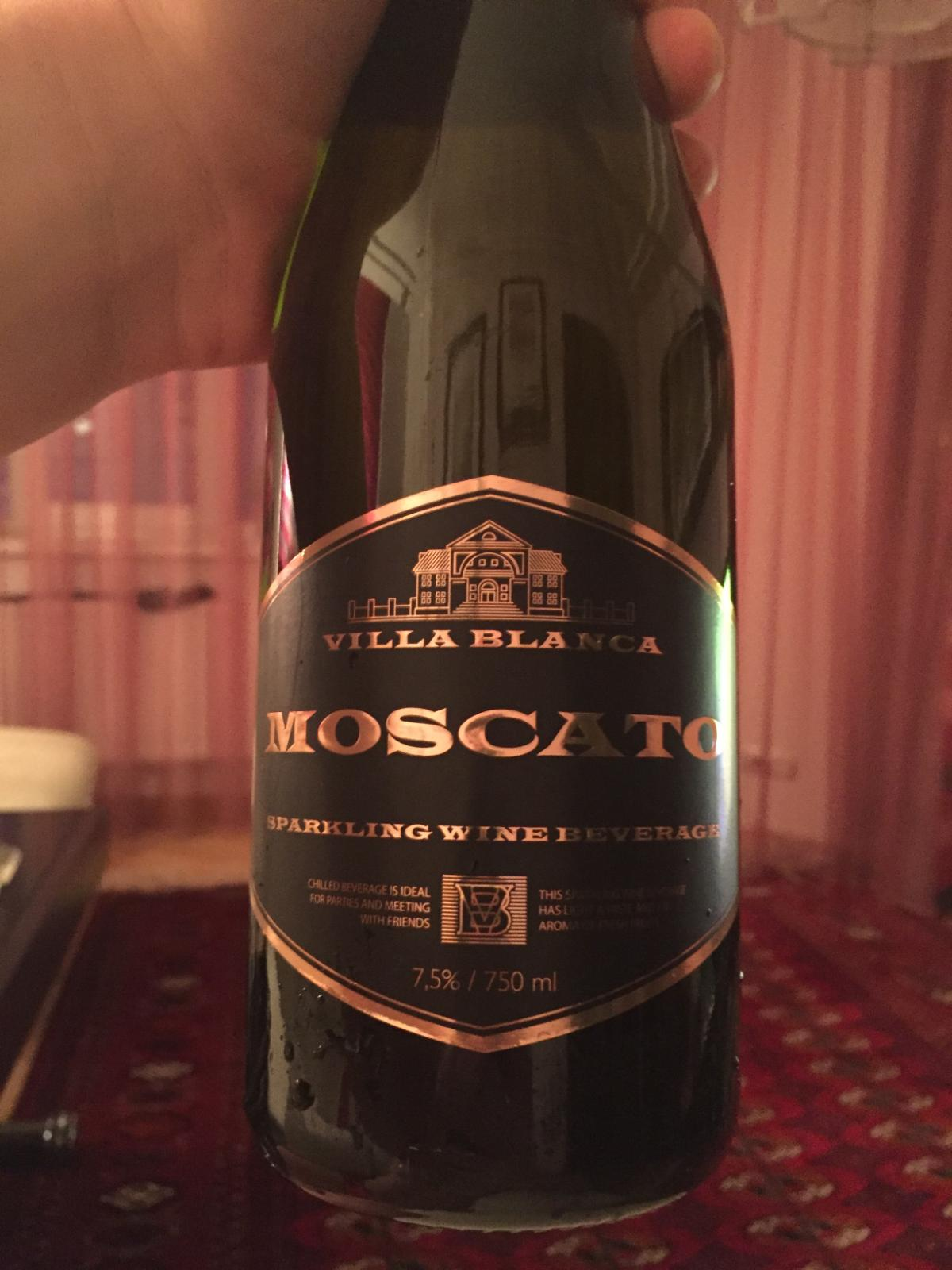 Шампанское Villa Blanca Moscato