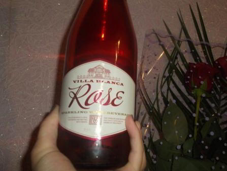 Шампанское Villa Blanca Rose