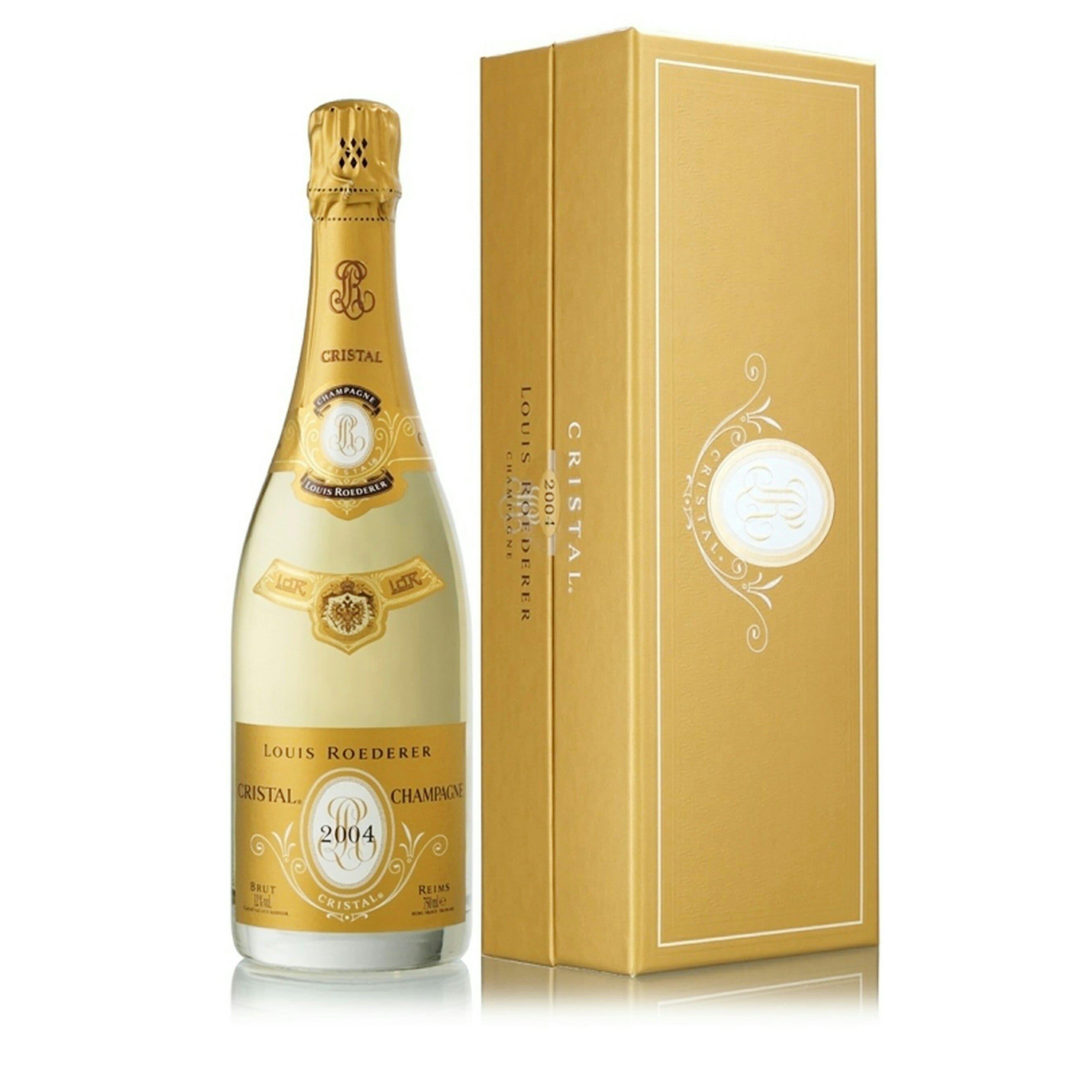 шампанское кристалл луи родерер