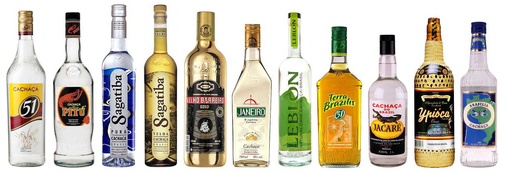Кашаса, бразильская водка