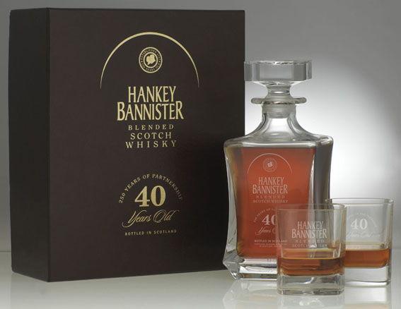 виски Hankey Bannister, Ханки Баннистер, Виски Хэнки Бэннистер цена