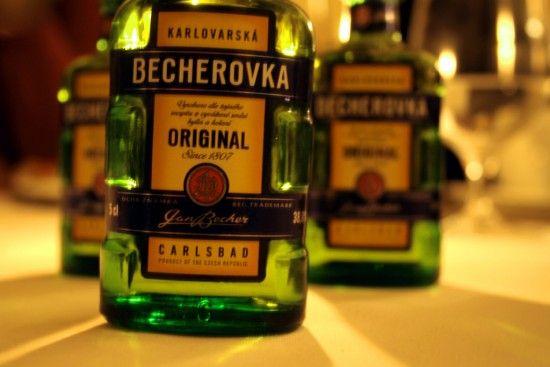 бехеровка в бутылке