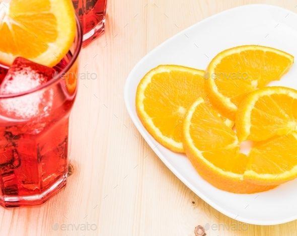 Апероль с апельсиновым соком