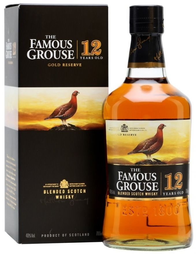Виски Famous grouse gold reserve