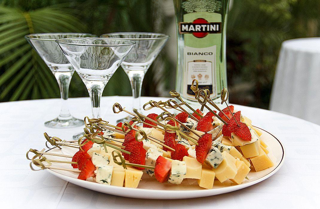 закуска для мартини