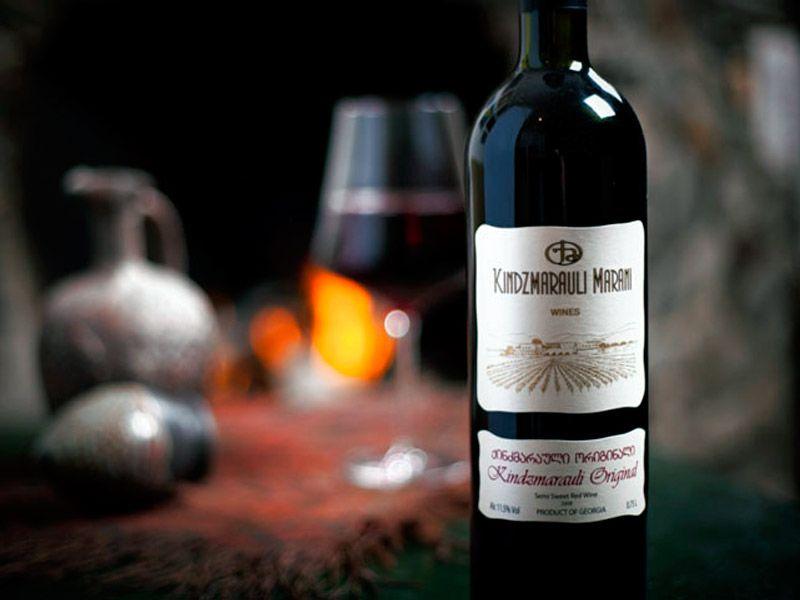 вино Киндзмараули красное полусладкое