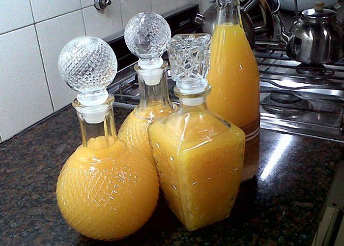 водка с апельсином
