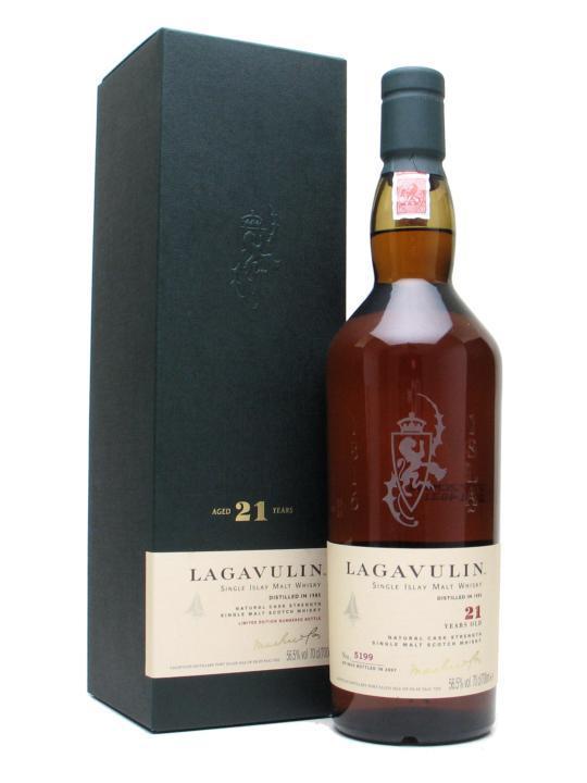 виски лагавулин 21 год