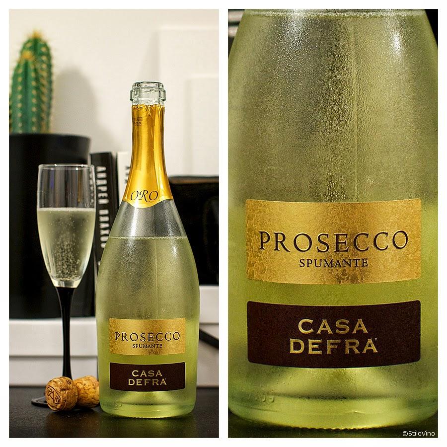 Сильногазированное вино Просекко Spumante