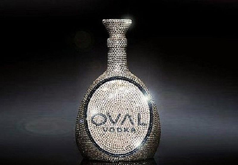 Водка «Овальная» с кристаллами Сваровски