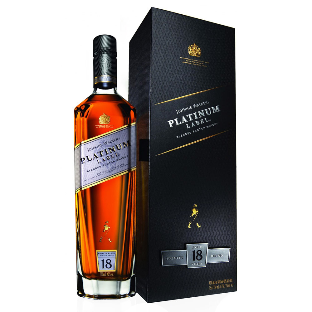 Виски Johnnie Walker Platinum Label 18 лет