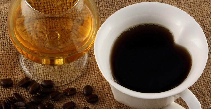 домашний коньяк с кофе