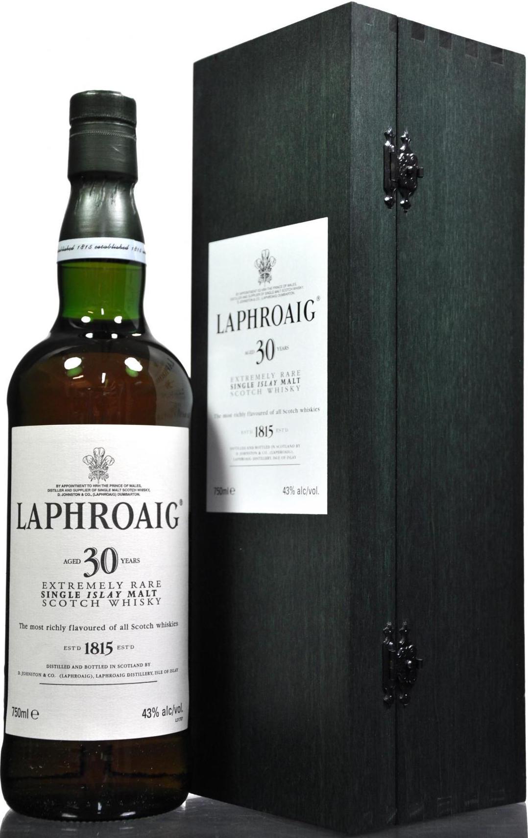 Laphroaig 30 лет