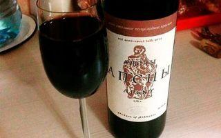 Вино Апсны — полусладкое вино из солнечной Абхазии