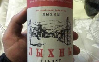 Вино Лыхны — напиток родом из Абхазии