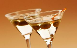 Как пить и чем закусить Мартини