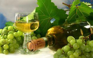 Шампанское из виноградных листьев