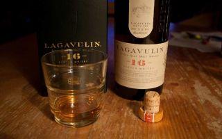 Lagavulin — виски холодной фильтрации
