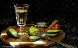 Водка — как пить, чем закусить?