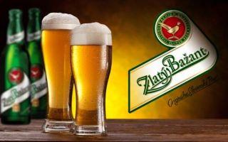 Пиво Златый Базант