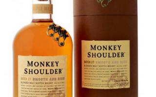 Monkey Shoulder виски