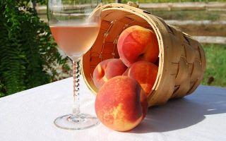 Вино из персиков в домашних условиях простой рецепт